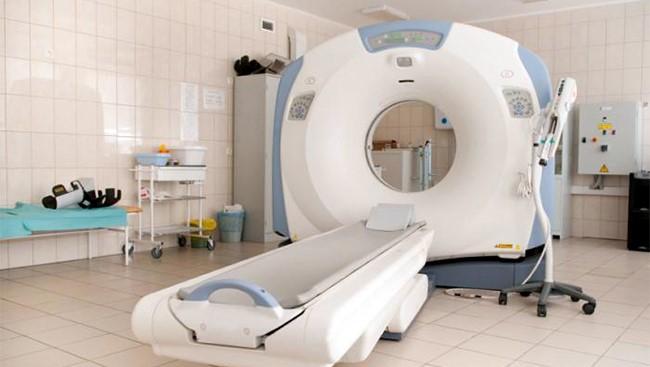 Chụp CT mô phỏng là một trong các bước của xạ trị ung thư