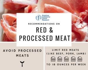 ung thư có nên ăn thịt